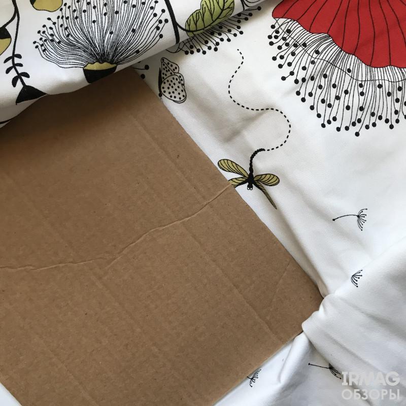 внутри картон для сохранения формы упаковки