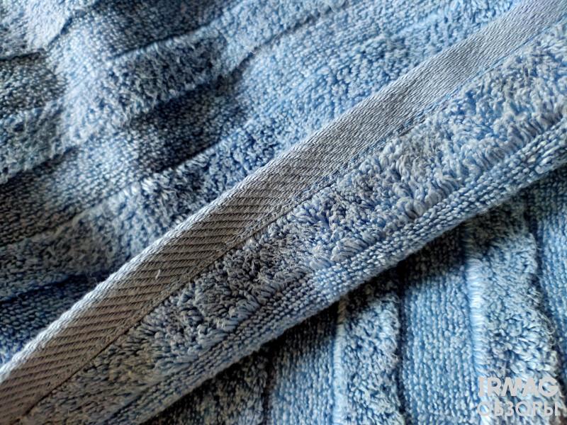 Полотенце махровое Verossa Palermo (70 х 140 см) - пудрово-голубой