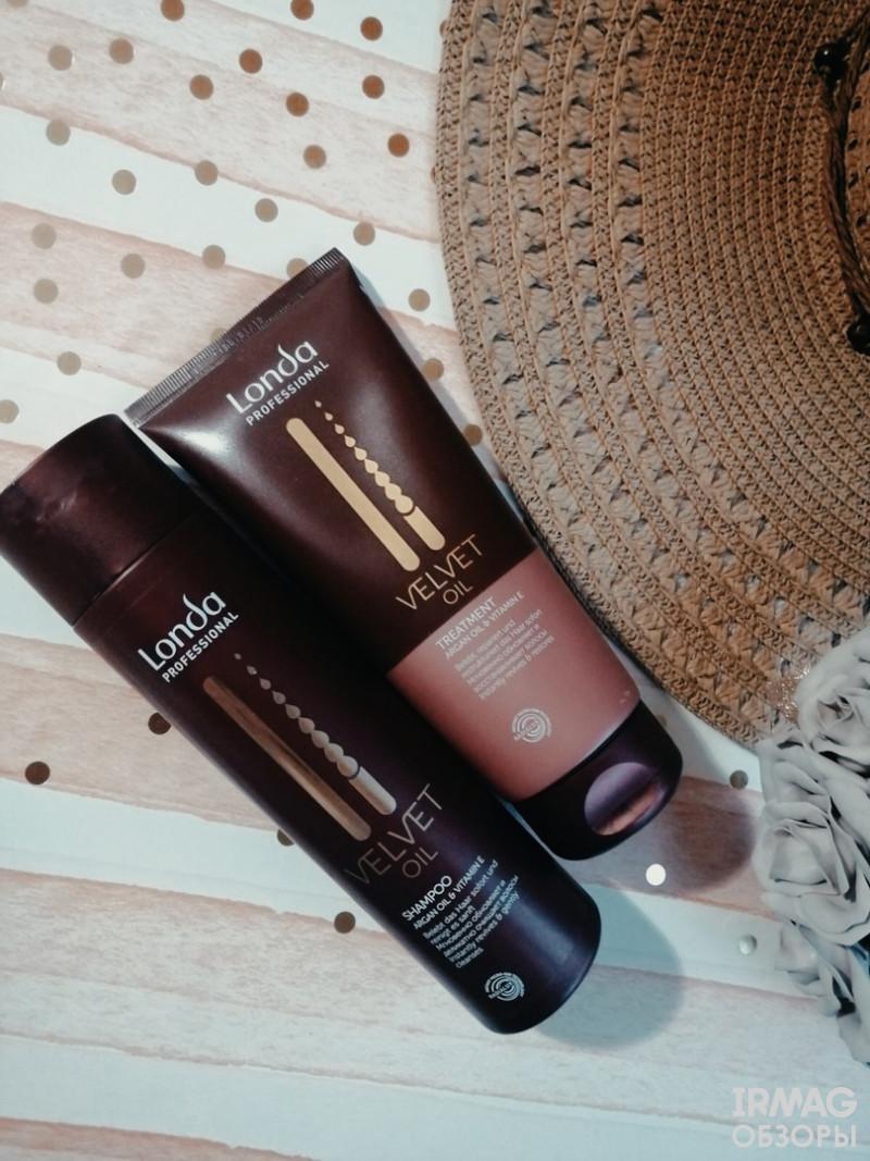 Набор подарочный Londa Velvet Oil (шампунь + средство для волос)