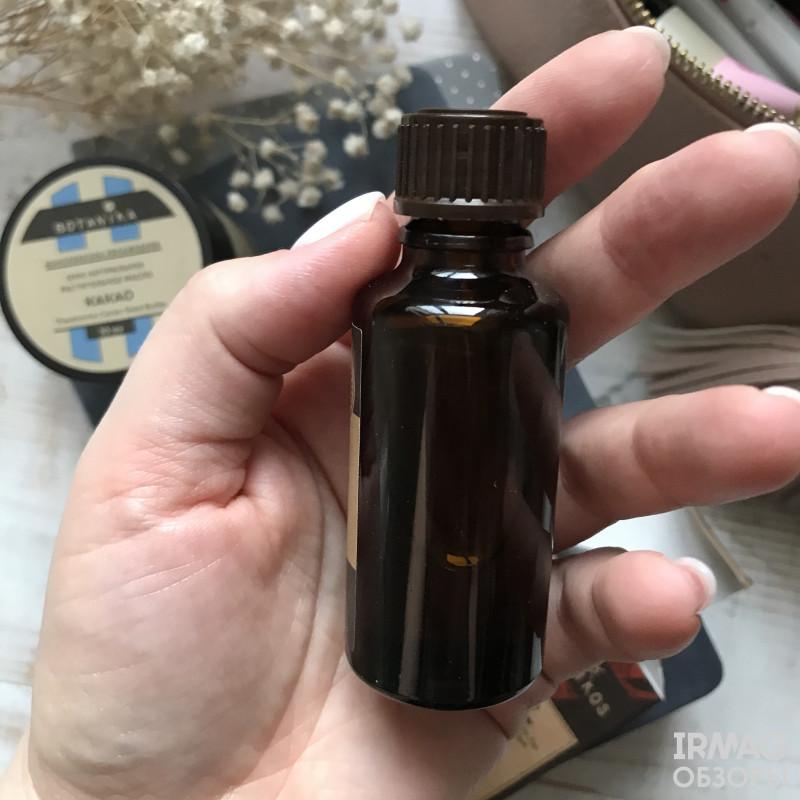Про натуральные масла арганы и какао от Botavikos