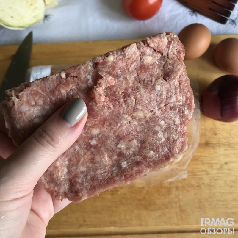 Обзор говяжьего фарша Ангарского мясокомбината