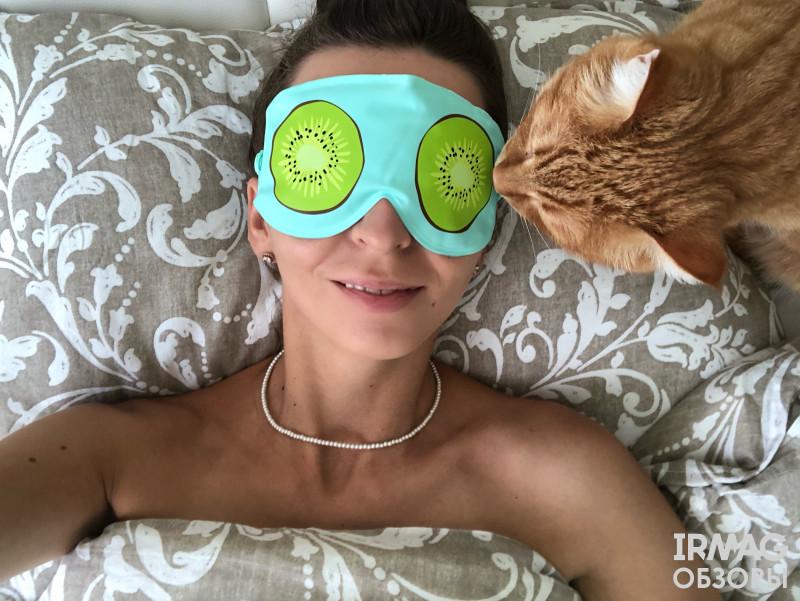 Маска для глаз Pakcare Fruits Kiwi (21 х 10,3 см)