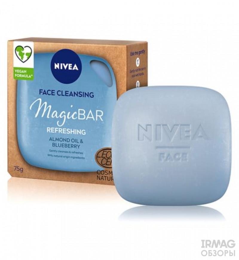 Обзор на Мыло для умывания Nivea Скраб и глубокое очищение (75 г)