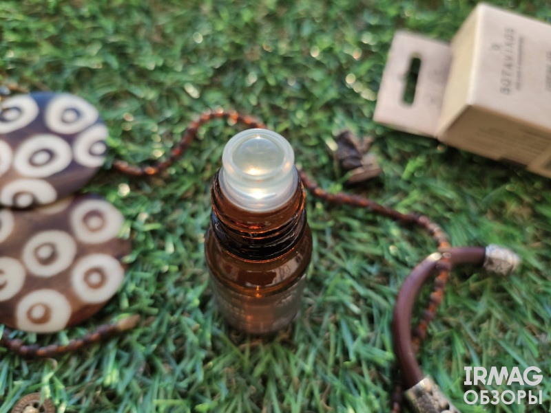 Обзор на Масло парфюмированное Botavikos Сантал и ветивер (10 мл)